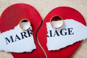 wedding rings and a broken heart